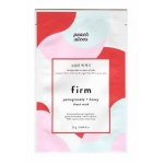 Firm Sheet Mask - Pomegranate + Honey by Peach Slices