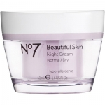 No7 Beautiful Skin Night Cream Normal/Dry Skin by Boots