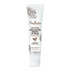 100% Virgin Coconut Oil Shea Butter Vegan Lip Balm by Shea Moisture
