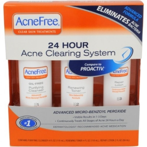 24 Hour Acne Clearing System (Oil-Free Purifying Cleanser) by AcneFree