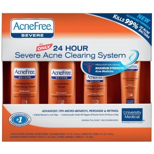 24 Hour Severe Acne Clearing System (Maximum Strength Repair Lotion) by AcneFree
