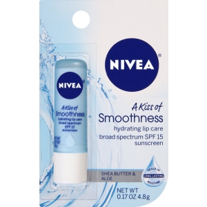 A Kiss of Smoothness Hydrating Lip Care SPF 15 by Nivea