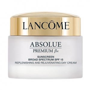Absolue Premium Bx Sunscreen Broad Spectrum SPF 15, Replenishing and Rejuvenating Day Cream by Lancome