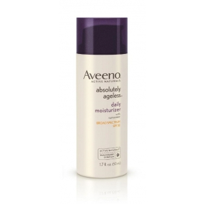 Absolutely Ageless Daily Moisturizer SPF 30 by Aveeno