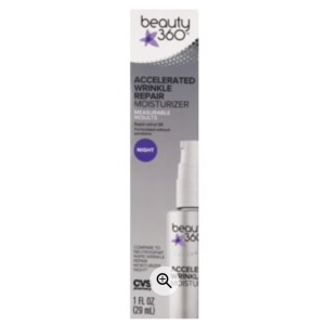 Accelerated Wrinkle Repair Night Moisturizer by Beauty 360