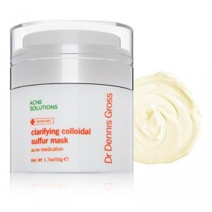 Acne Solutions Clarifying Colloidal Sulfur Mask by Dr. Dennis Gross Skincare