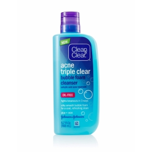Acne Triple Clear Bubble Foam Cleanser by Clean & Clear