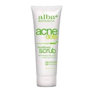 Acnedote Face & Body Scrub by Alba Botanica