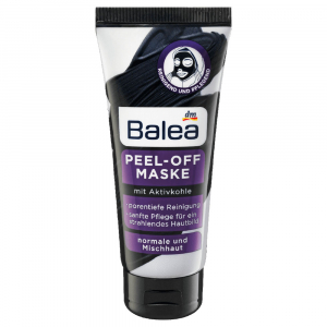 Activated Charcoal Peel Off Face Mask by Balea