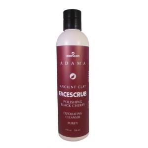 Adama Ancient Clay Face Scrub Polishing Black Cherry Exfoliating Cleanser by Zion Health
