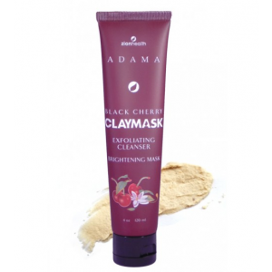 Adama Black Cherry Clay Mask Exfoliating Cleanser Brightening Mask by Zion Health