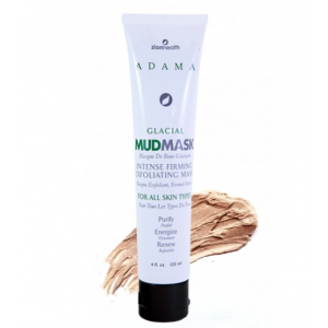 Adama Glacial Mud Mask Intense Firming Exfoliating Mask by Zion Health
