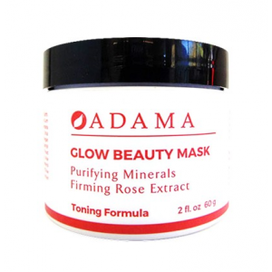 Adama Glow Beauty Mask Purifying Minerals Firming Rose Extract by Zion Health