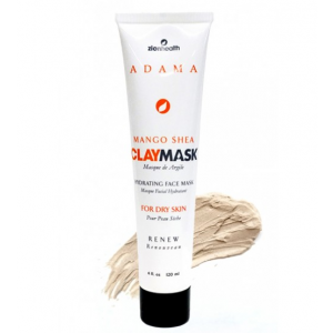 Adama Mango Shea Clay Mask Hydrating Face Mask, Dry Skin by Zion Health