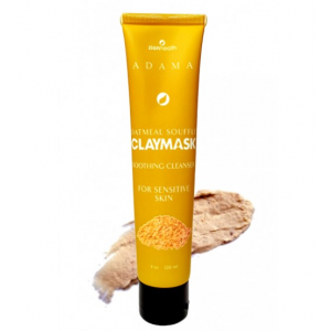 Adama Oatmeal Souffle Clay Mask Soothing Cleanser, Sensitive Skin by Zion Health