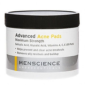 Advanced Acne Pads by MenScience Androceuticals