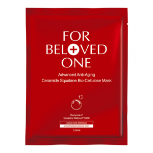 Advanced Anti-Aging Ceramide Squalane Bio-Cellulose Mask by For Beloved One
