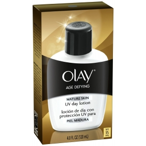 Age Defying Mature Skin Day Lotion with Broad Spectrum SPF 15 by Olay