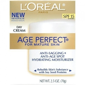 Age Perfect Anti-Sagging + Anti-Age Spot Hydrating Moisturizer Day Cream SPF 15 by L'Oreal Paris