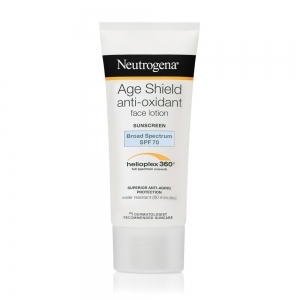 Age Shield Face Sunscreen Lotion SPF 70 by Neutrogena