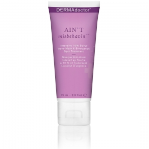 Ain't Misbehavin' Intensive 10% Sulfur Acne Mask & Emergency Spot Treatment by DERMAdoctor