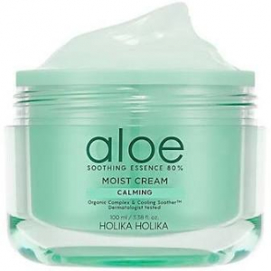 Aloe Soothing Essence 80% Moist Cream by Holika Holika