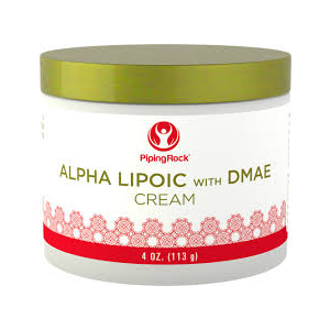 Alpha Lipoic with DMAE Cream by Piping Rock