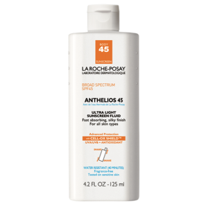Anthelios 45 Ultra Light Sunscreen Fluid for Body by La Roche-Posay