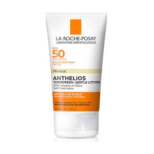 Anthelios Body and Face Gentle-Lotion Mineral Sunscreen SPF 50 by La Roche-Posay