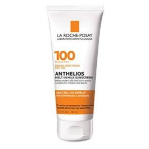 Anthelios Melt-in Milk Body & Face Sunscreen Lotion SPF 100 by La Roche-Posay