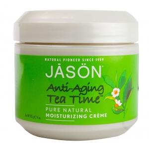 Anti-Aging Tea Time Pure Natural Moisturizing Creme by Jason Natural