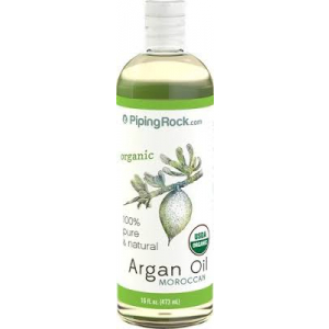 Argan Oil 100% Pure Moroccan Liquid Gold (Organic) by Piping Rock
