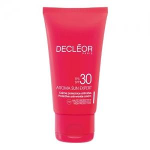 Aroma Sun Protective Anti-Wrinkle Cream SPF 30, for Face by Decléor
