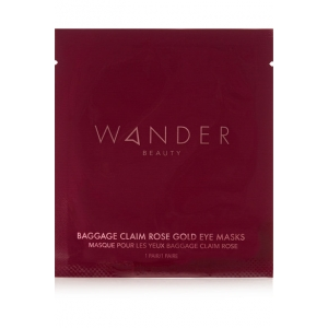 Baggage Claim Rose Gold Eye Mask by Wander Beauty
