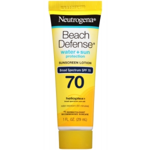 Beach Defense Sunscreen Lotion Broad Spectrum SPF 70 by Neutrogena