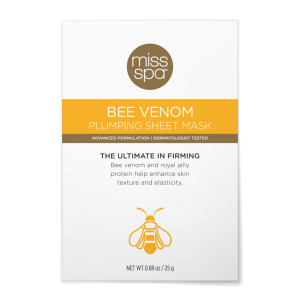 Bee Venom Plumping Sheet Mask by Miss Spa