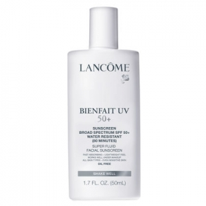 Bienfait UV 50+ Sunscreen Broad Spectrum SPF 50+ Water Resistant Super Fluid Facial Sunscreen by Lancôme