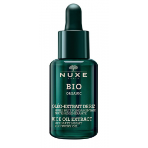 Bio Organic Rice Oil Extract Ultimate Night Recovery Oil by Nuxe