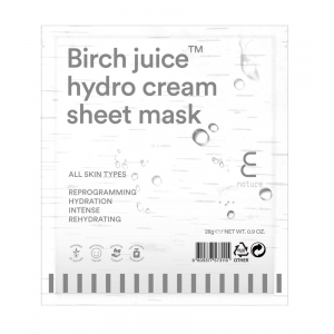 Birch Juice Hydro Cream Sheet Mask by Enature