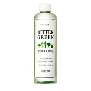 Bitter Green Toner & Mask by Skinfood