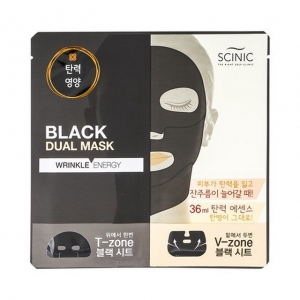 Black Dual Mask Wrinkle Energy by Scinic