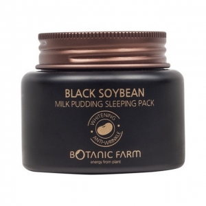 Black Soybean Milk Pudding Sleeping Pack by Botanic Farm