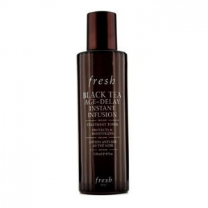 Black Tea Age-Delay Instant Infusion Treatment Toner by fresh