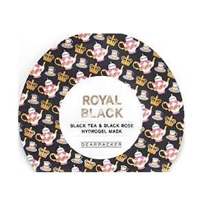 Black Tea & Black Rose Hydrogel Mask by Dearpacker