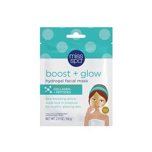 Boost & Glow Hydrogel Facial Mask by Miss Spa