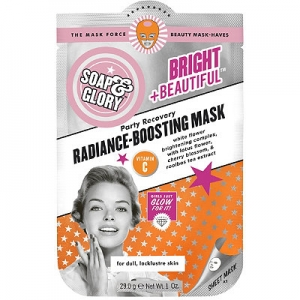 Bright + Beautiful Party Recovery Radiance-Boosting Mask by Soap & Glory