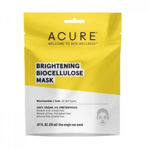 Brightening Biocellulose Mask by Acure