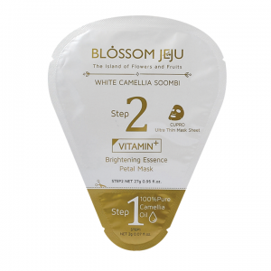 Brightening Vitamin Essence Petal Mask by Blossom Jeju