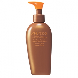 Brilliant Bronze Tinted Self-Tanning Gel, for Face/Body by Shiseido