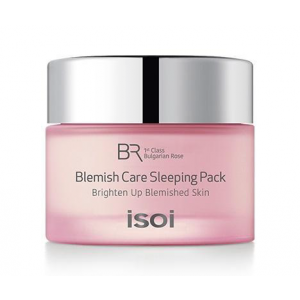 Bulgarian Rose - Blemish Care Sleeping Pack by isoi